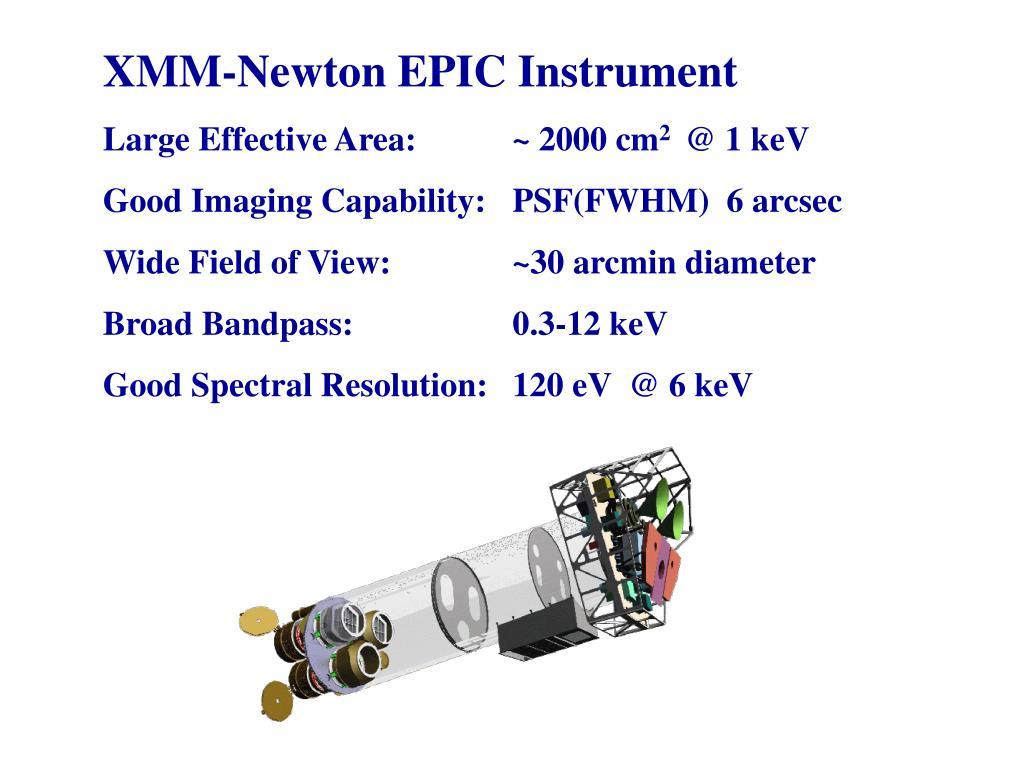 XMM-Newton EPIC Instrument
