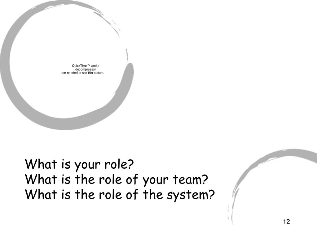 What is your role?