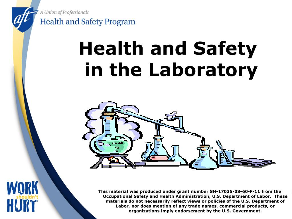 health and safety in the laboratory l.