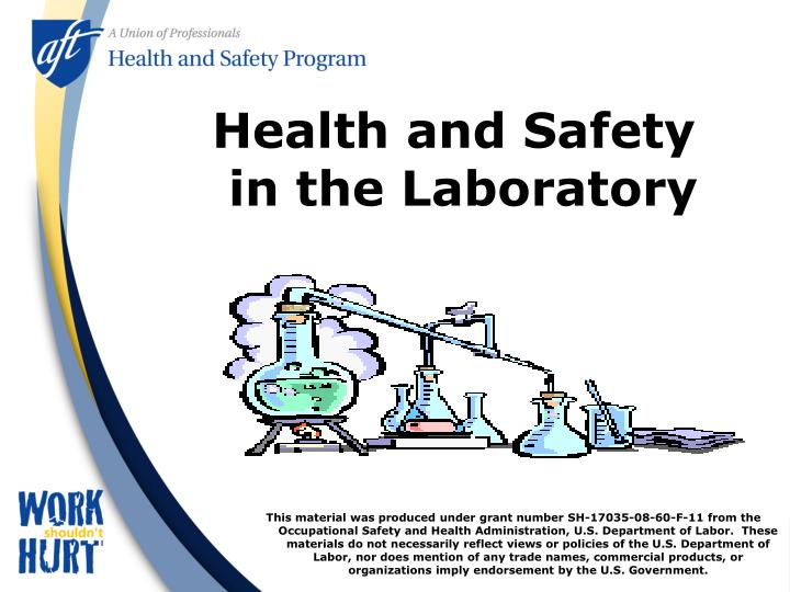health and safety in the laboratory n.