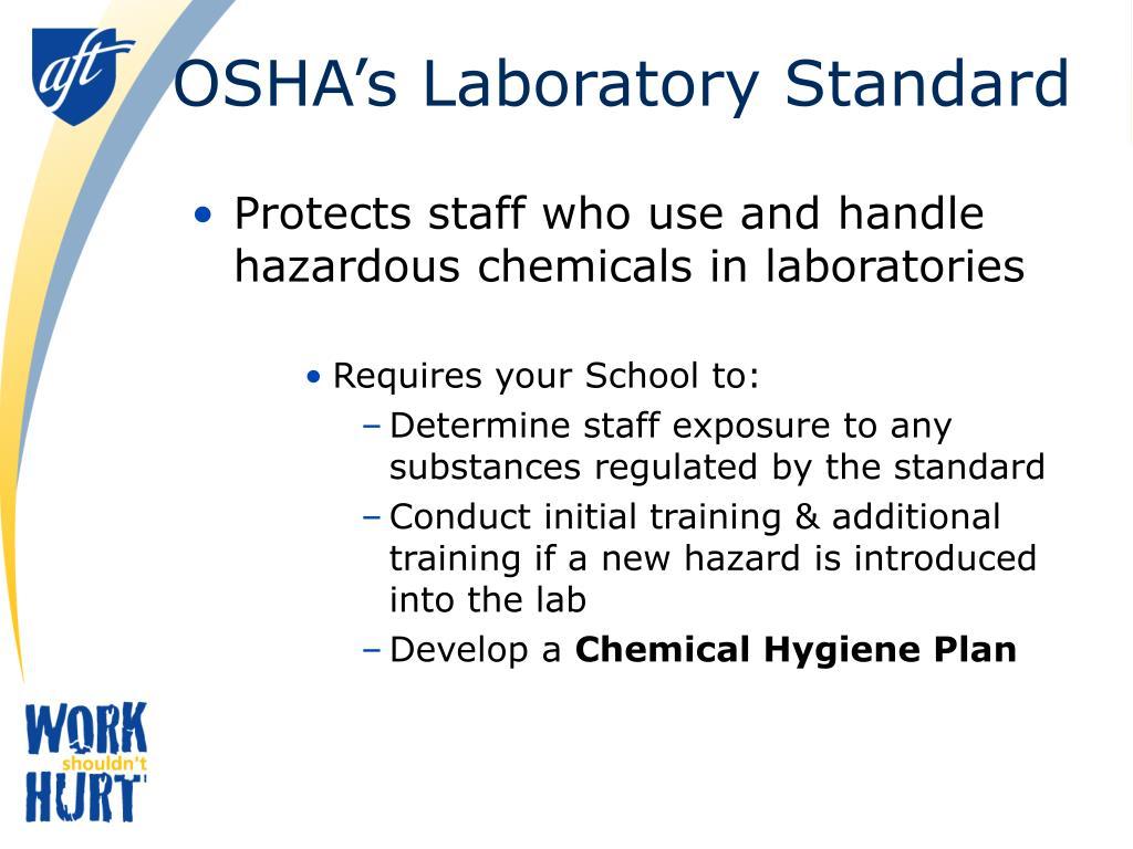 OSHA's Laboratory Standard