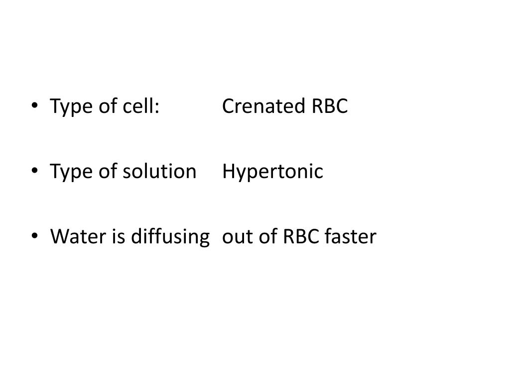 Type of cell: