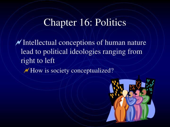 Chapter 16 politics