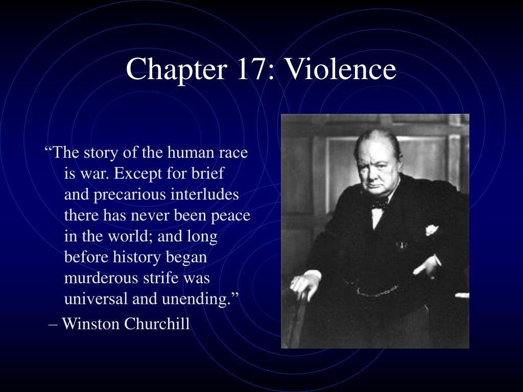 Chapter 17: Violence