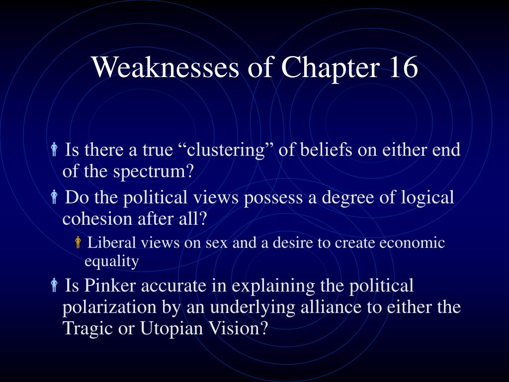 Weaknesses of Chapter 16