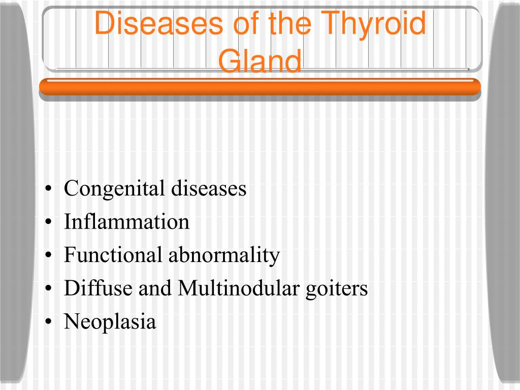 Diseases of the Thyroid Gland