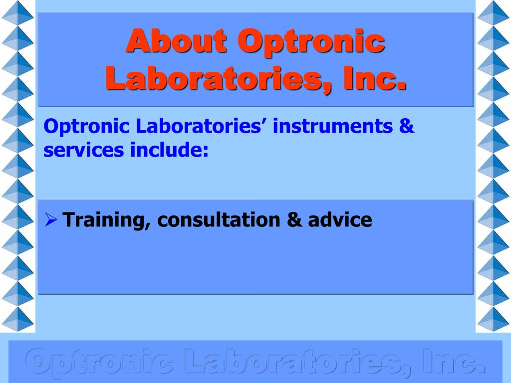 About Optronic Laboratories, Inc.