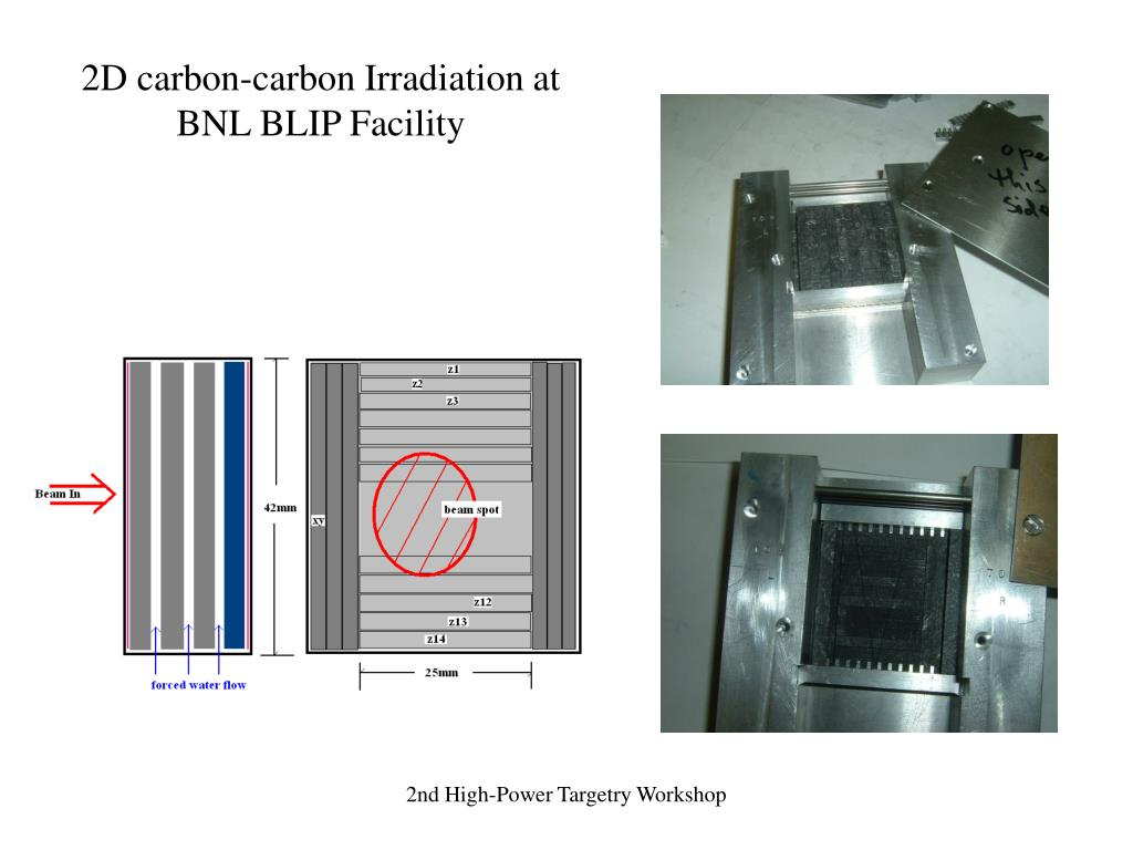 2D carbon-carbon Irradiation at
