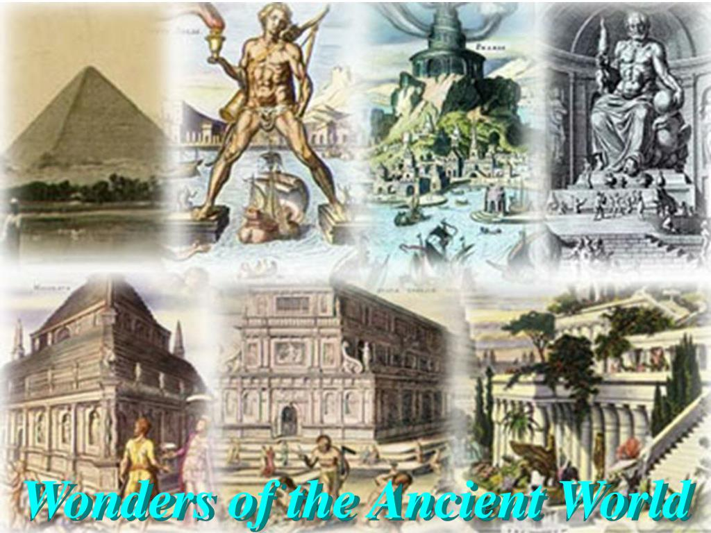 the seven wonders of the ancient world In 2000 a swiss foundation launched a campaign to determine the new seven wonders of the world given that the original seven wonders list was compiled in the 2nd century bce—and that only one entrant is still standing (the pyramids of giza)—it seemed time for an update.