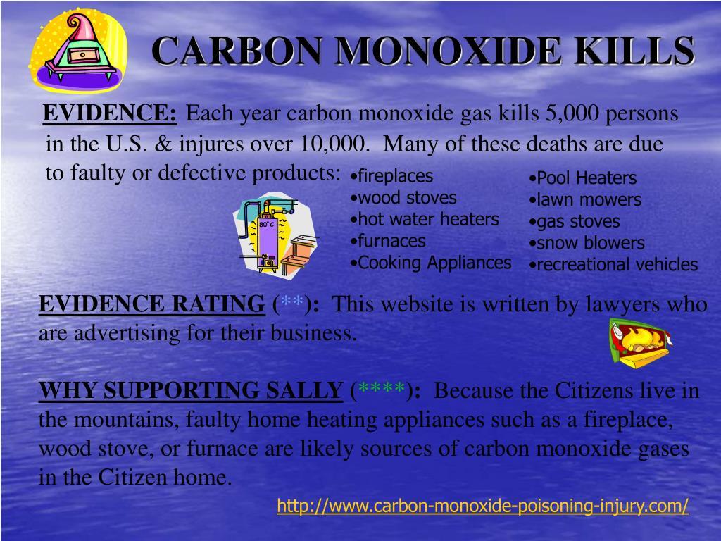 CARBON MONOXIDE KILLS