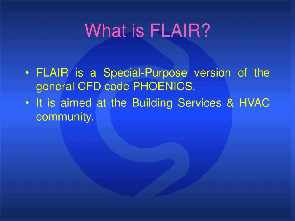 What is FLAIR?