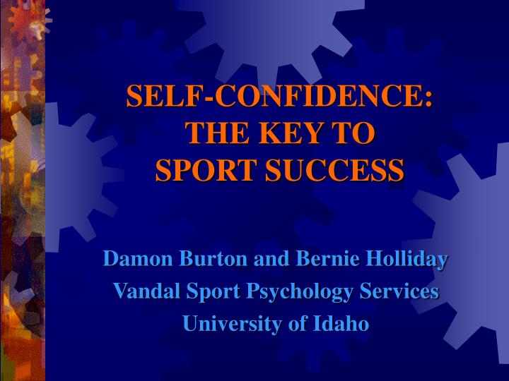 self confidence the key to sport success n.