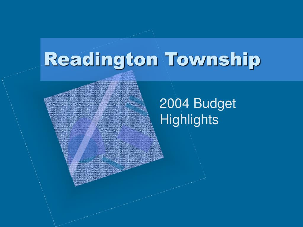 readington township l.