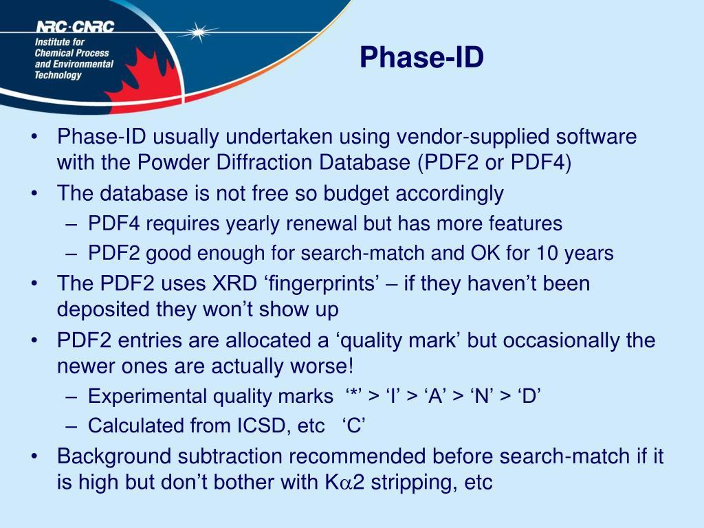 Phase-ID