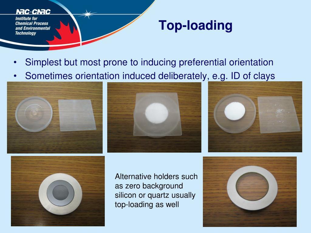 Top-loading