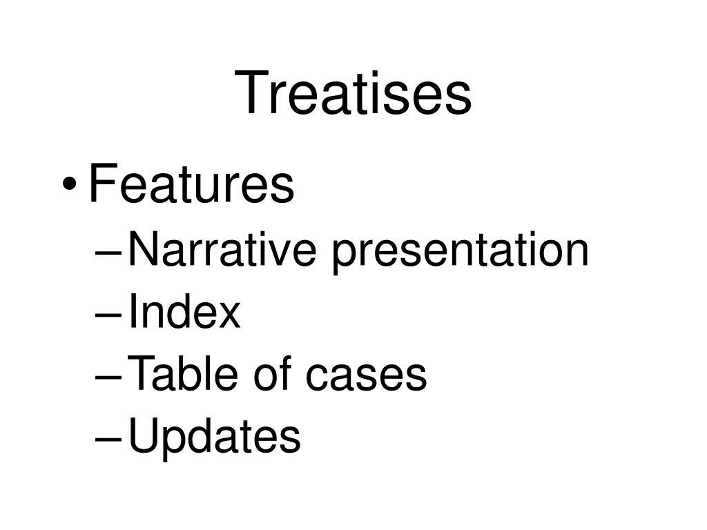 Treatises