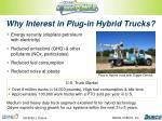 why interest in plug in hybrid trucks