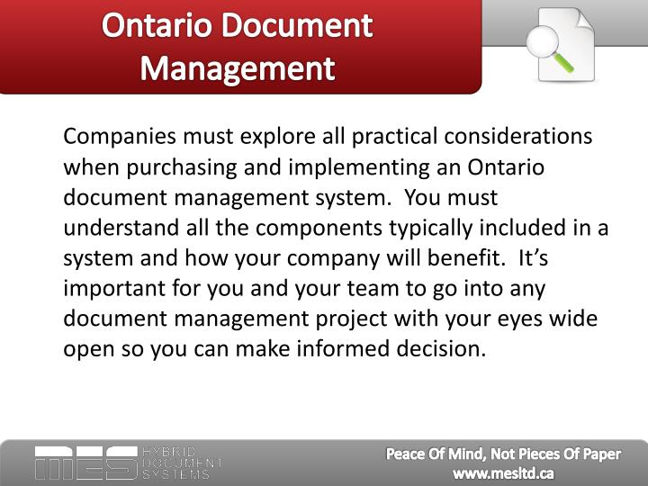 Ontario document management3