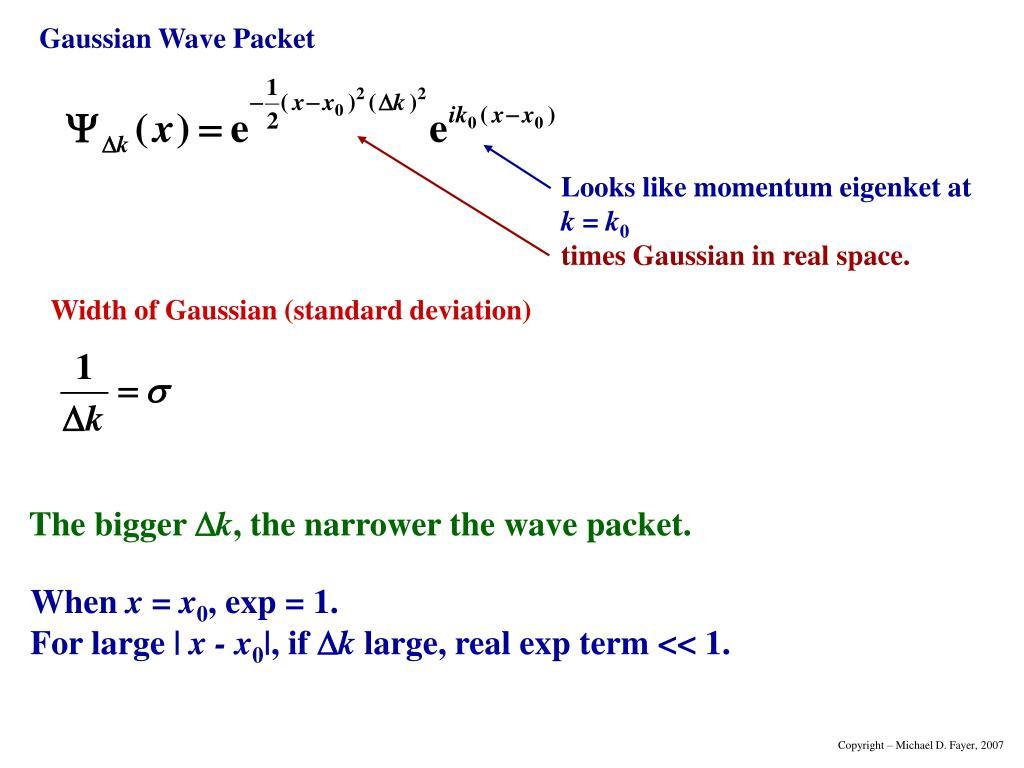 Width of Gaussian (standard deviation)