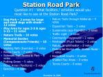 station road park6