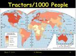 tractors 1000 people