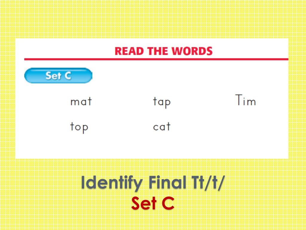 Identify Final