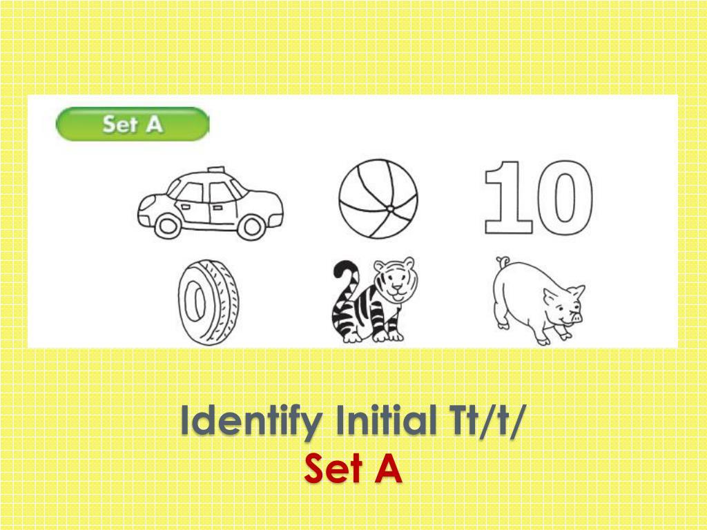 Identify Initial
