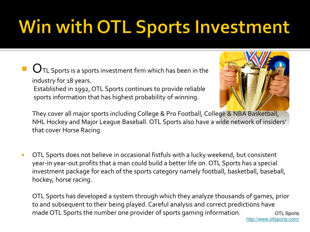 Win with OTL Sports Investment