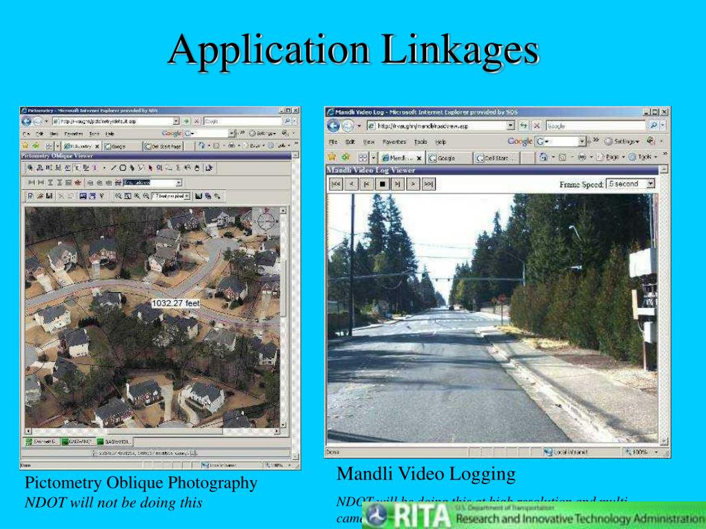 Application Linkages