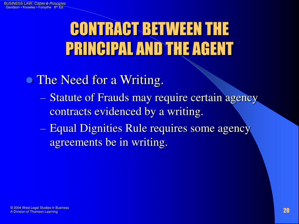 CONTRACT BETWEEN THE