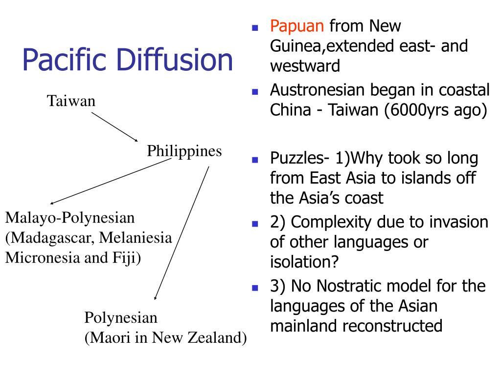 Pacific Diffusion