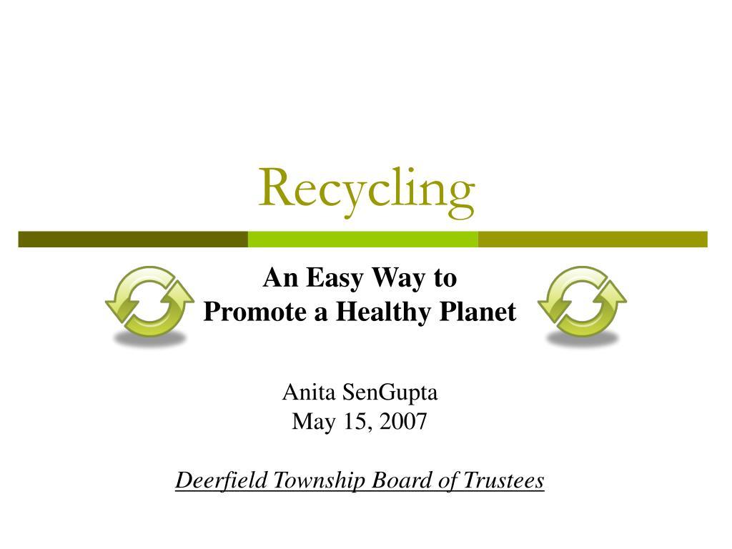 recycling l.