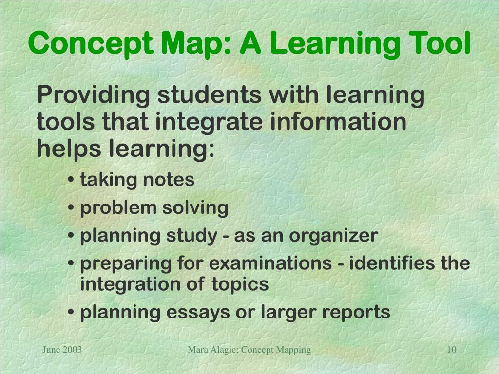 Concept Map: A Learning Tool