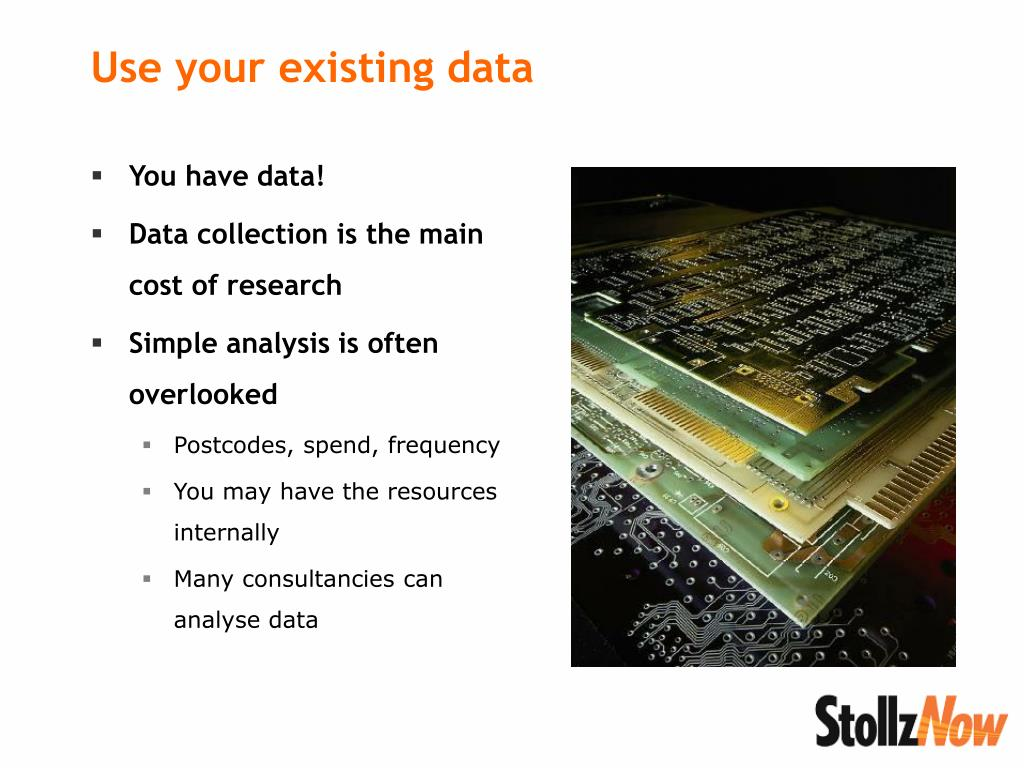 You have data!