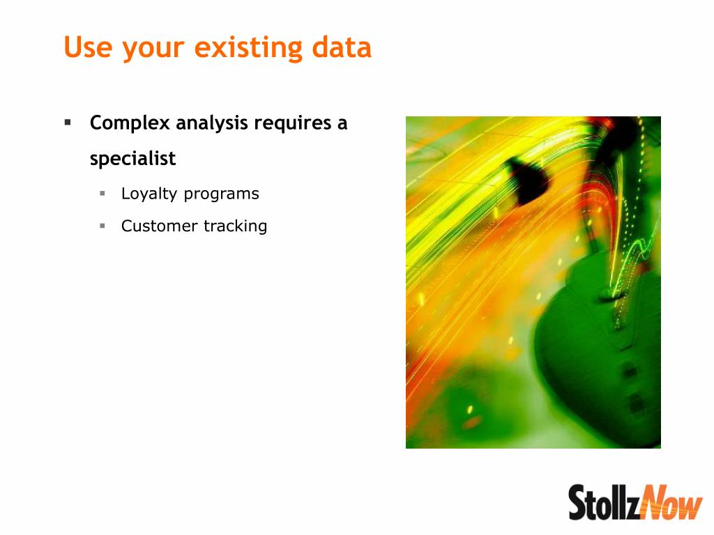Complex analysis requires a specialist