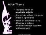 abb theory