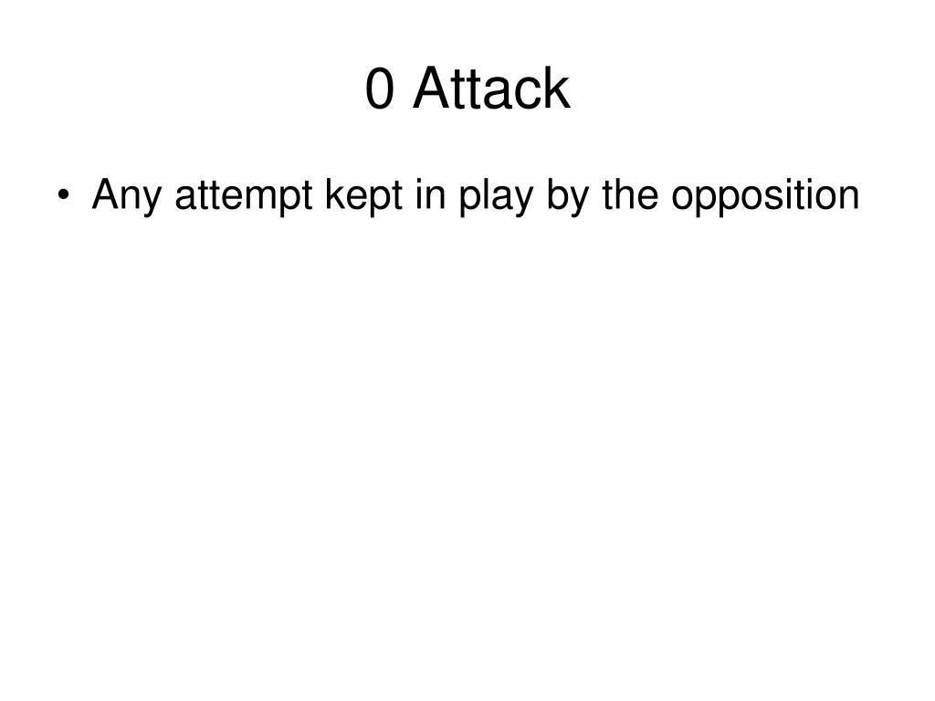 0 Attack