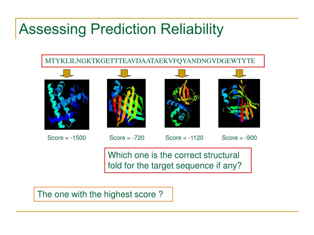 Assessing Prediction Reliability