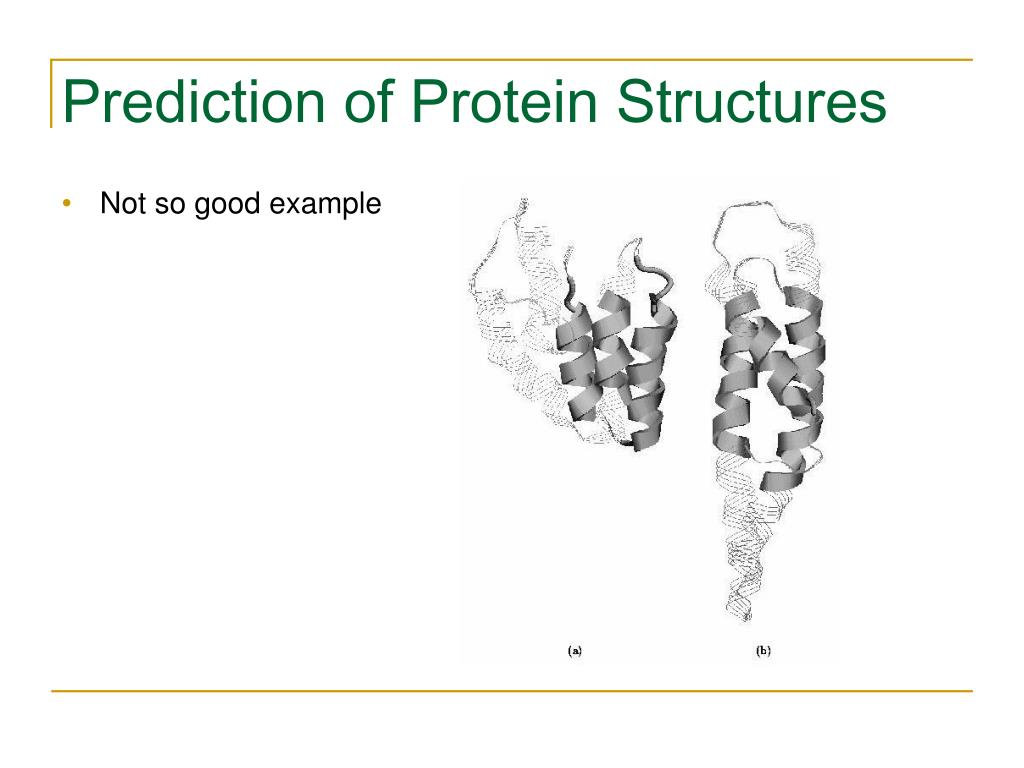 Prediction of Protein Structures