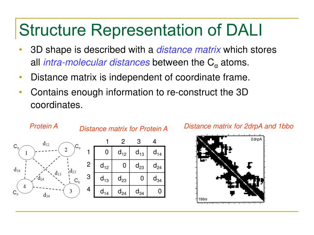 Structure Representation of DALI