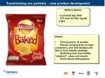 transforming our portfolio new product development40