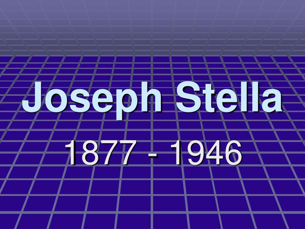joseph stella l.