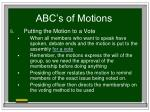 abc s of motions31
