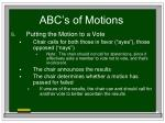 abc s of motions32