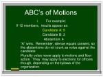 abc s of motions34