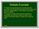 debate example75