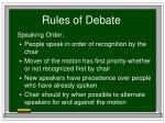 rules of debate16