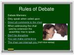 rules of debate18