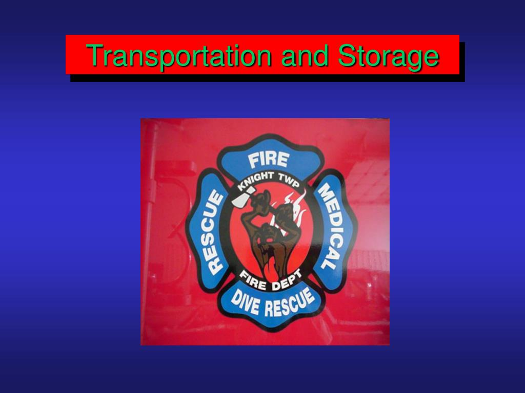 Transportation and Storage