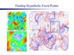 finding hyperbolic fixed points
